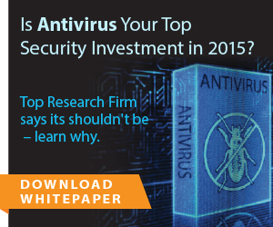 Don't Pay for Antivirus! Use Microsoft with Bit9 + Carbon Black. Learn More in Whitepaper
